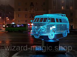 3D Светильник  Автомобиль 8