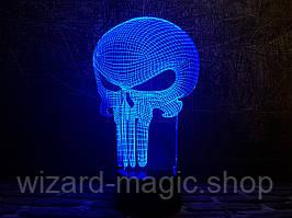 3D лампа Каратель