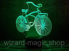 3D ночник Велосипед