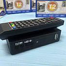 Приемник DVB-T2 для цифрового телевидения Тюнер LCD с поддержкой wi-fi адаптера+Megogo ТВ ресивер ТВ тюнер, фото 5