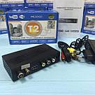 Приемник DVB-T2 для цифрового телевидения Тюнер LCD с поддержкой wi-fi адаптера+Megogo ТВ ресивер ТВ тюнер, фото 6
