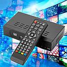 Приемник DVB-T2 для цифрового телевидения Тюнер LCD с поддержкой wi-fi адаптера+Megogo ТВ ресивер ТВ тюнер, фото 10