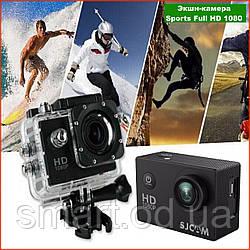 Екшн-камера SPORTS CAM A-7 Full HD 1080p Action Camera Full HD екран A7 водонепроникний бокс Waterproof 30m