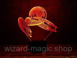 3D ночник Космический корабль 2