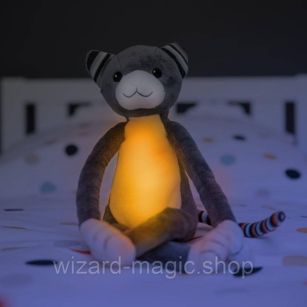 ZAZU Музыкальная мягкая игрушка KATIE с ночником