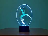 3D ночник Гимнастка, фото 1