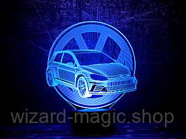 3D светильник ночник Автомобиль 18