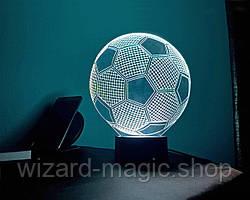 Ночник 3D светильник Футбольный мяч 3D Creative