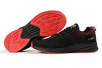 Кроссовки мужские BaaS Ploa черные, дышащий материал, прошиты. Код DO-10491