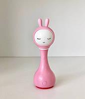 Игрушка-ночник Smarty Зайка Alilo R1 розовый, фото 1