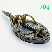 Кормушка флет метод 70гр. Flat Feederpro