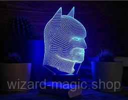 Ночник 3D Бэтмен 2