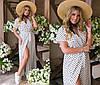 Сукня жіноча максі (3 кольори) ТК/-1241 - Білий