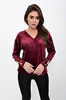 Джемпер женский 112R472 цвет Бордовый