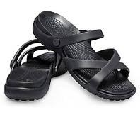Crocs Women's Meleen Cross-Band Sandal оригинал США W7 37-38 (24.8см.) сандалии шлёпки крокс сандалі original