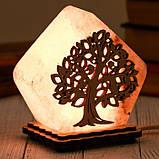 Соляной светильник Домик средний Дерево, фото 2