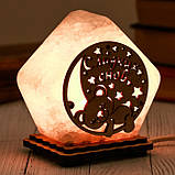 Соляной светильник Домик средний Сладких снов, фото 2