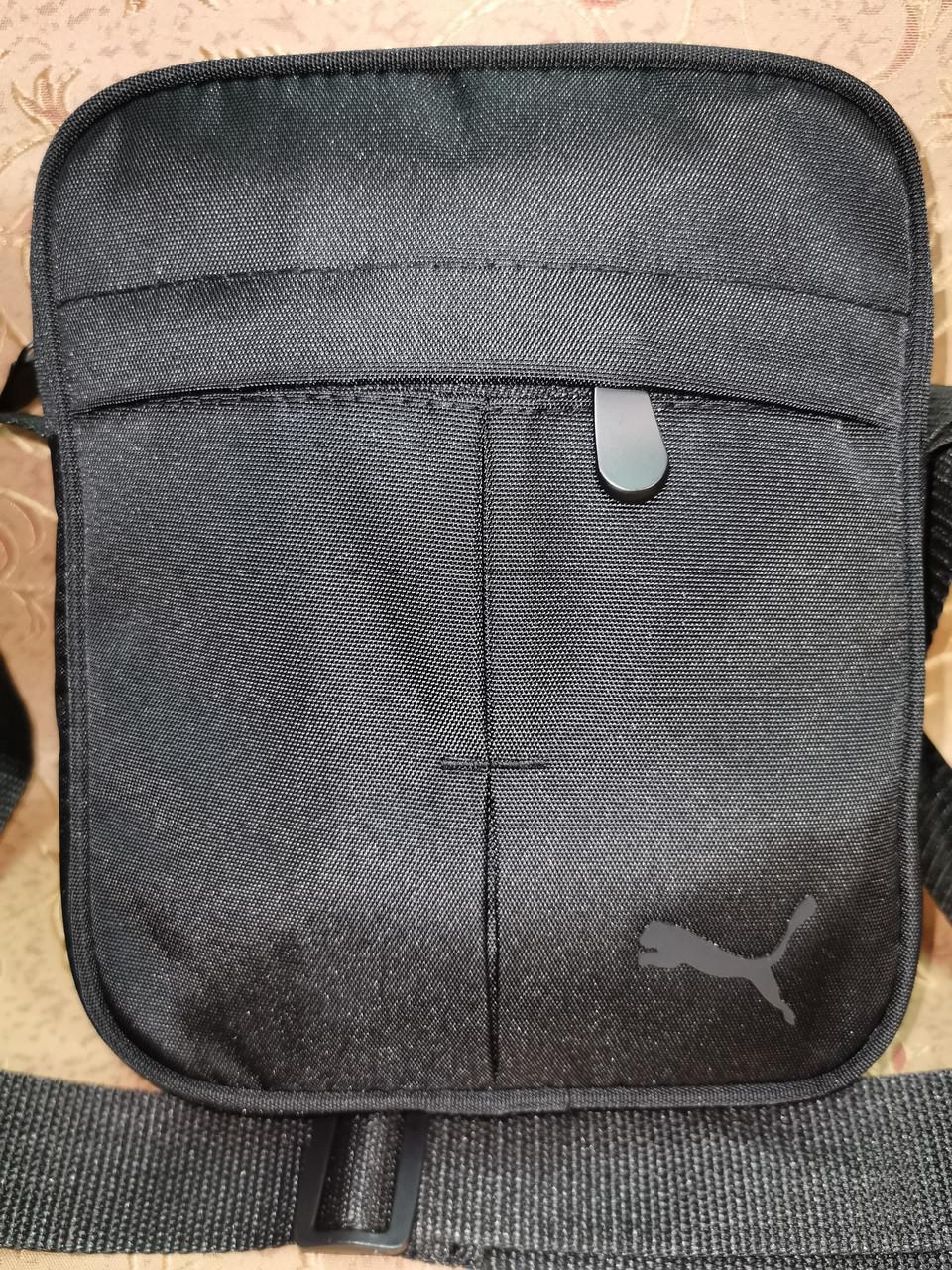 (Новый стиль)Барсетка PUMA Оксфорд ткань 1000D/Сумка спортивные для через плечо Унисекс ОПТ