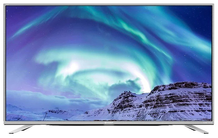 Телевизор Sharp LC-55CUF8472ES ( Full HD / 4K / Smart TV / 600Hz / DVB-С/T2/S2)