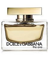 Dolce & Gabbana The One Парфюмированная вода 75 ml EDP D&G (Долче и Габана Габбана Зе Ван) Женский Парфюм Духи