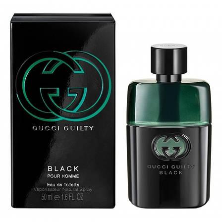 Gucci Guilty Black Pour Homme Туалетная вода 90 ml EDT (Гуччи Гилти Блэк Блек) Мужской Парфюм Аромат Духи, фото 2