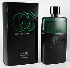 Gucci Guilty Black Pour Homme Туалетная вода 90 ml EDT (Гуччи Гилти Блэк Блек) Мужской Парфюм Аромат Духи, фото 3