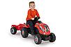 Детский трактор с прицепом SMOBY XXL, фото 3