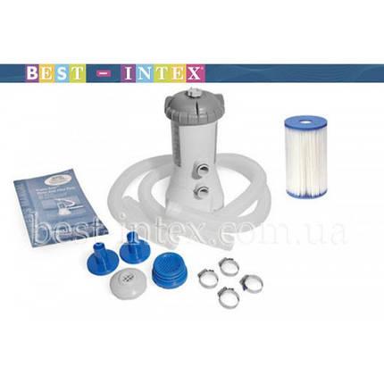 Фільтруючий насос Intex 28604 2006 л/год повністю комплектація.Дуже потужний, фото 2