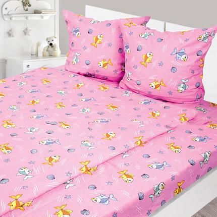 Комплект белья из фланели в кроватку ТМ Ярослав, фото 2