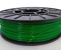 PETG - пластик для печати на 3D принтере.Зеленый. 1,75 мм, 750 грамм