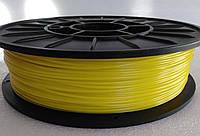 PETG - пластик для печати на 3D принтере. Желтый (лимонный ) 1,75 мм, 750 грамм