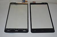 Оригинальный тачскрин / сенсор (сенсорное стекло) для Prestigio MultiPhone 5044 Duo (черный цвет) + СКОТЧ
