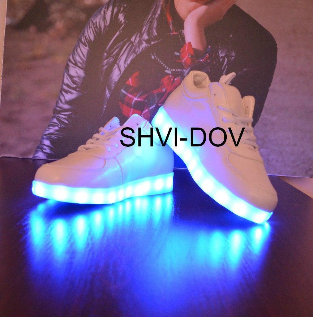 Кросівки Супер Хіт з підсвіткою підошви, LED 40-й
