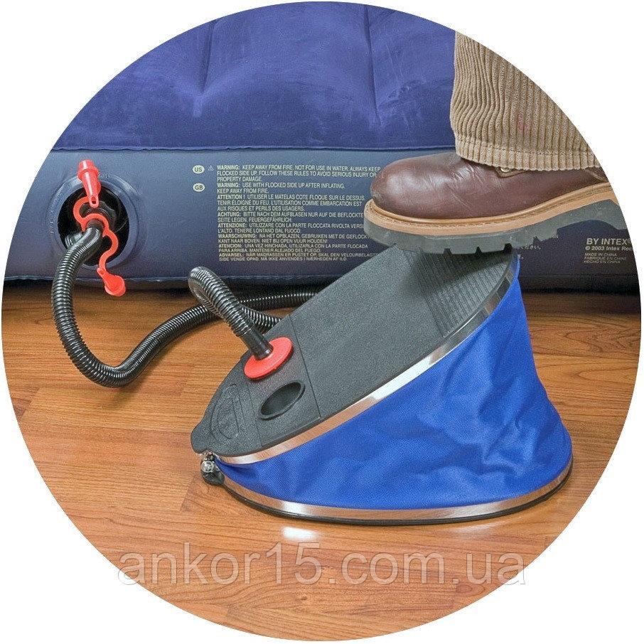 Насоси Giant Intex 68610 механічний ножний насос.Супер якість .