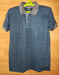 Футболка поло мужская T85 размер XL (обхват груди 101 см)