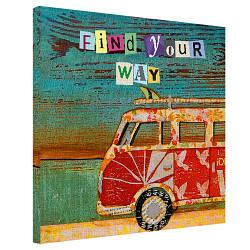 Картина на полотні 50х50 Find your way (H5050_DVD022)