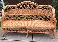 Диван плетеный большой | диван из лозы 180 длиной | диван плетеный из лозы