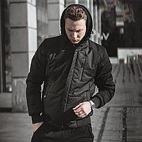 Куртка демисезонная мужская Omar черная 🔥