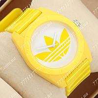 Часы наручные мужские Adidas Log 0927 Yelloy\White