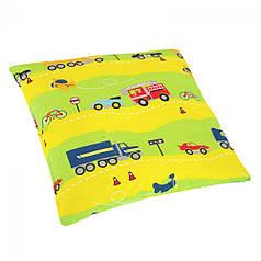 Подушка детская 45х45 ТМ Ярослав, цвета в ассортименте