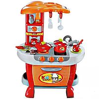 Игровой набор кухня для девочки коричневая