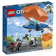 Конструктор LEGO City 60208 Повітряна поліція: арешт парашутиста