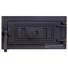 Зольные дверцы «Style 50» 330х180 Поддувальная Чугунная дверка для печи барбекю