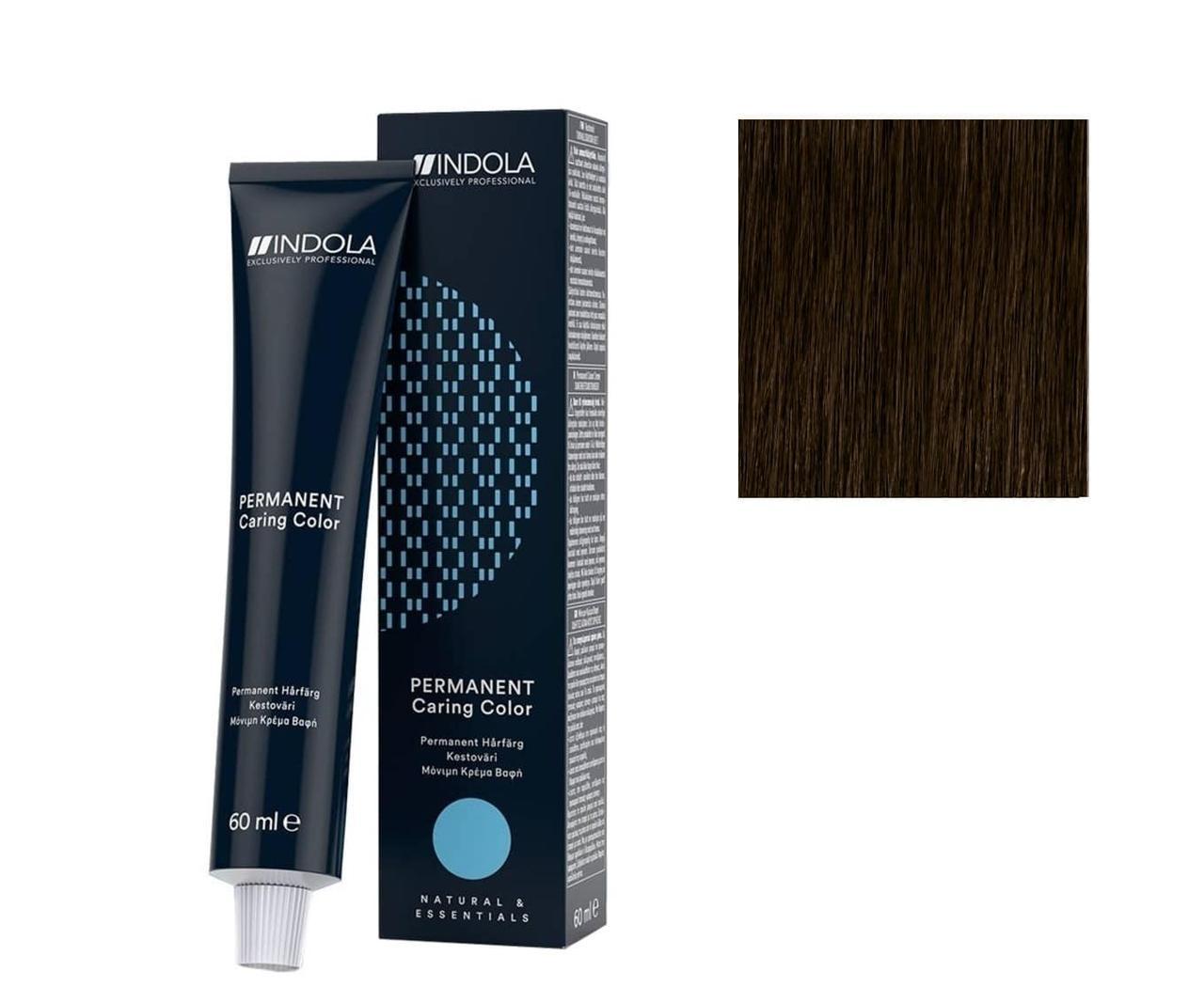 Крем-краска 5.00 Indola PCC Светло-коричневый интенсивный натуральный 60 мл