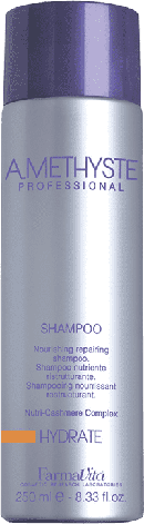 Зволожуючий шампунь для волосся FarmaVita Amethyste Hydrate Shampoo 250 мл, фото 2