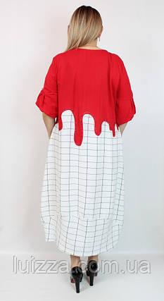 Турецкое платье Darkwin большого размера 52-64р, фото 2