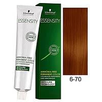 Краска для волос 6-70 Schwarzkopf Essensity Темно-русый медный натуральный 60 мл