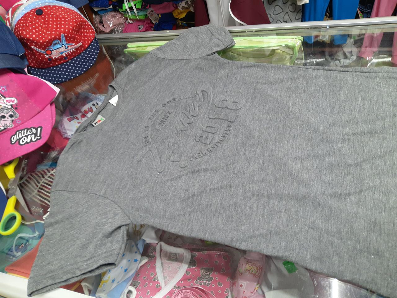 Підліткова 3Д футболка для хлопчика р. 146 152 158