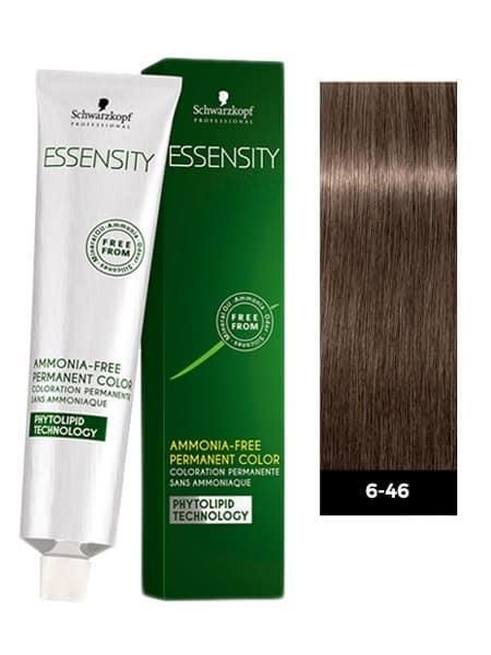 Фарба для волосся 6-46 Schwarzkopf Essensity Темно-Русявий Бежевий Шоколадний 60 мл