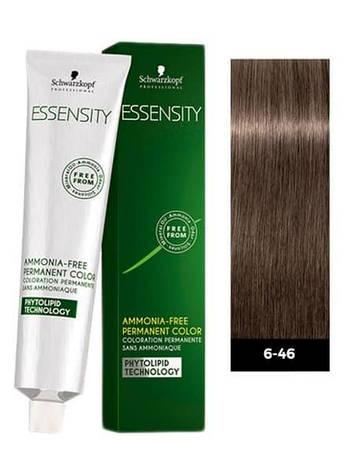 Фарба для волосся 6-46 Schwarzkopf Essensity Темно-Русявий Бежевий Шоколадний 60 мл, фото 2